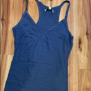 Nwt Abercrombie tank style top blue size L